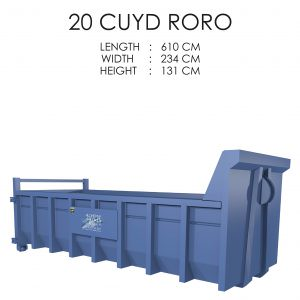 20 CUYD Roro Storage Solution