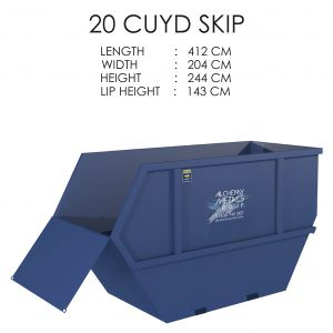 20 CUYD Skip Storage Solution