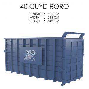 40 CUYD Roro Storage Solution