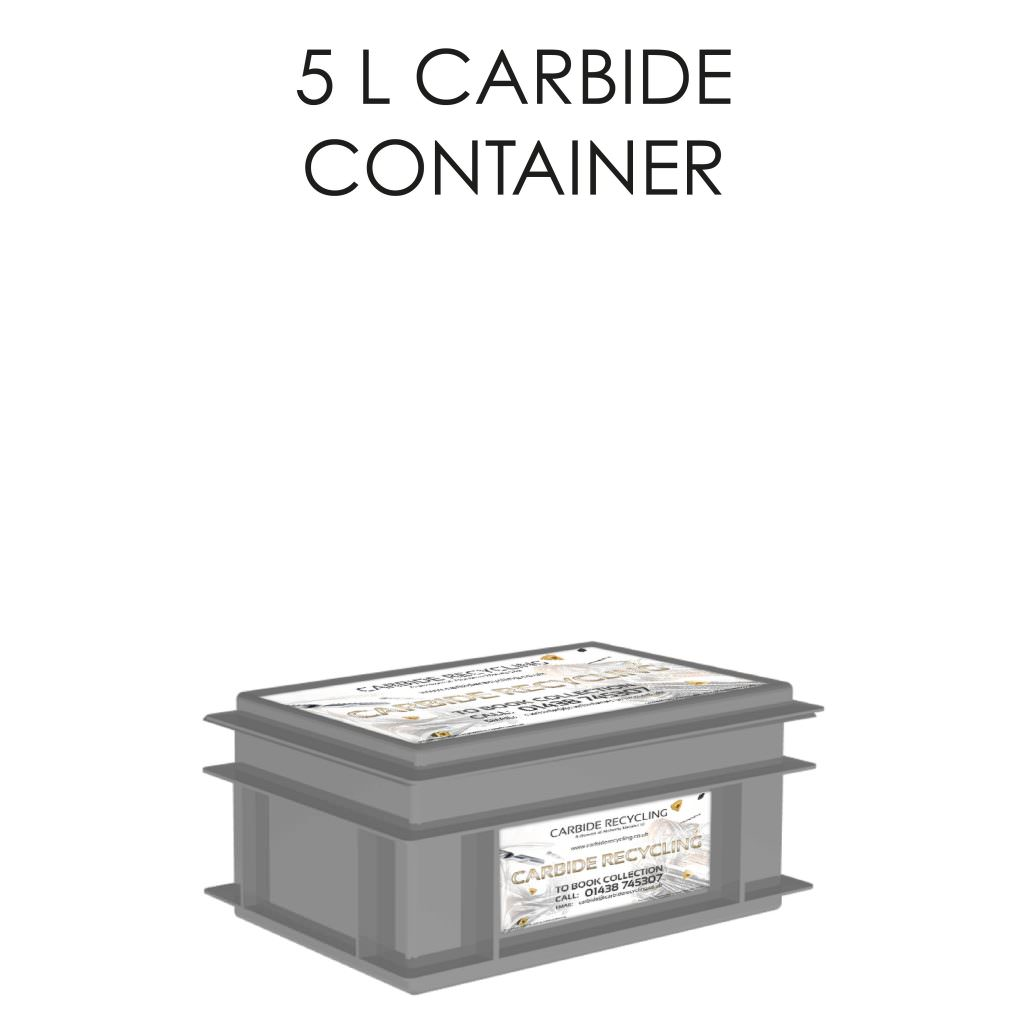 5L Carbide Container Storage Solution
