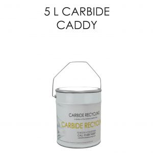 5 L Carbide Caddy Storage Solution