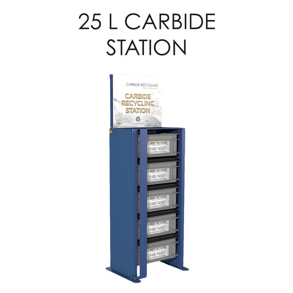 25 L Carbide Station Storage Solution