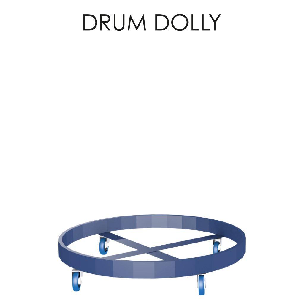 Drum Dolly Storage Solution