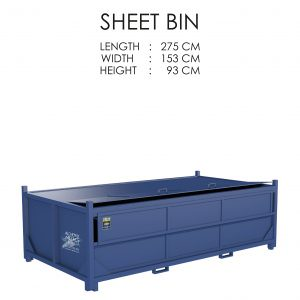 Sheet Bin Storage Solution