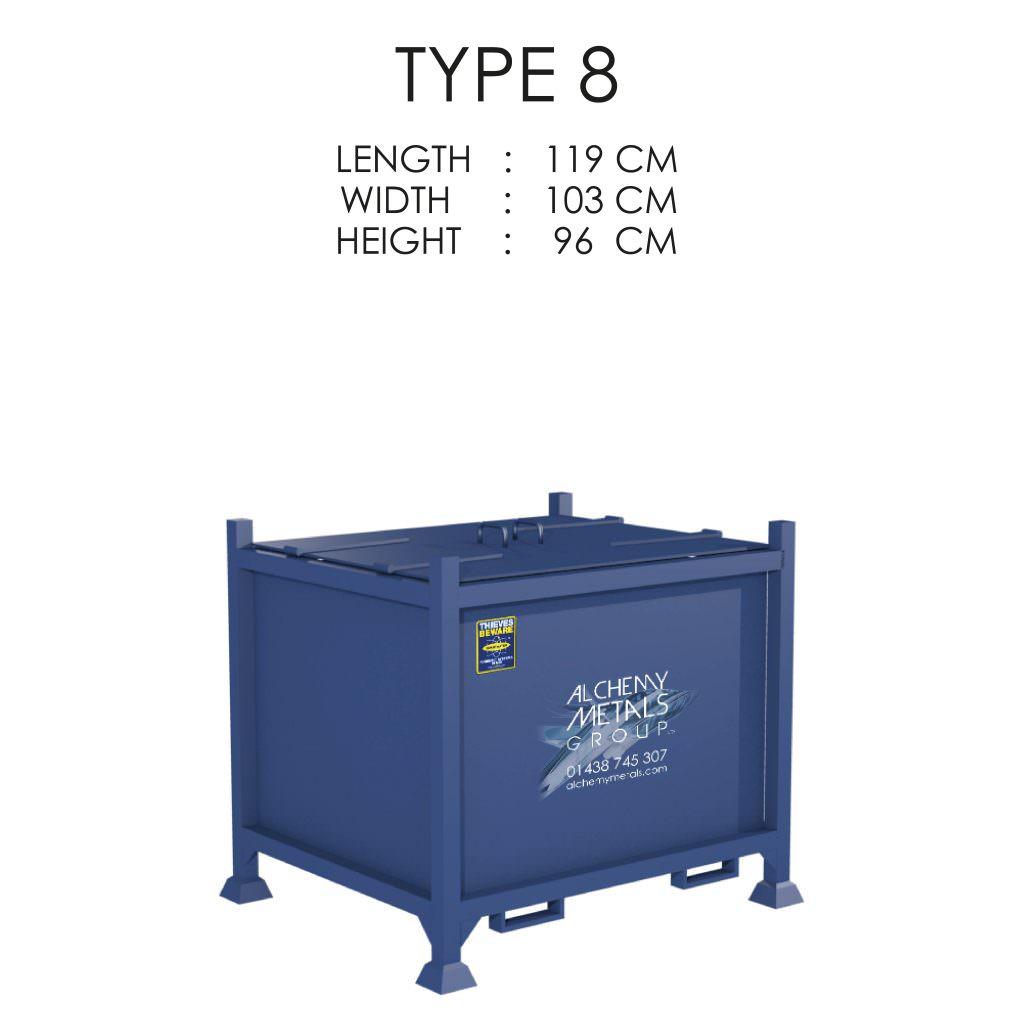Type 8 Stillage Storage Solution
