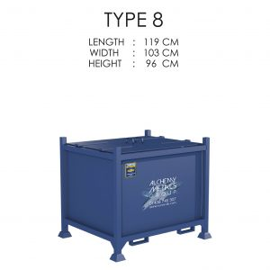 Type 8 Stillage Storage Solution