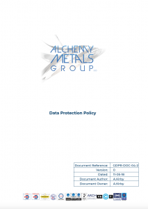 POLICY, DATA PROTECTION